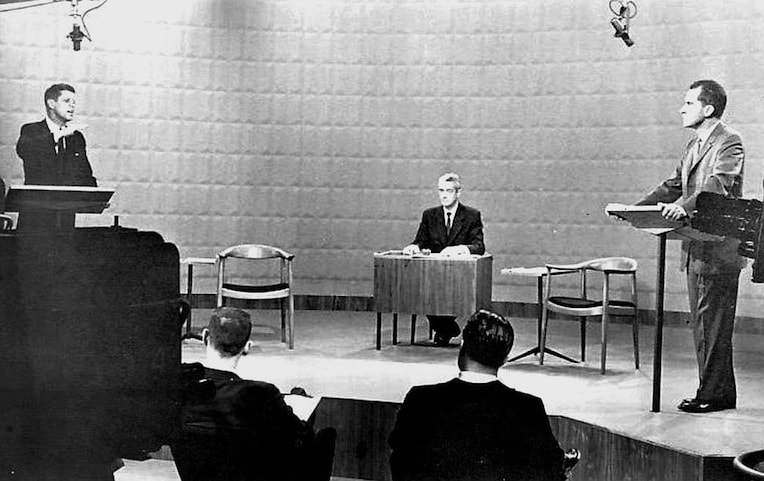 John Kennedy Richard Nixon CBS Chicago First Presidential Debate 1960 presidential history in Chicago
