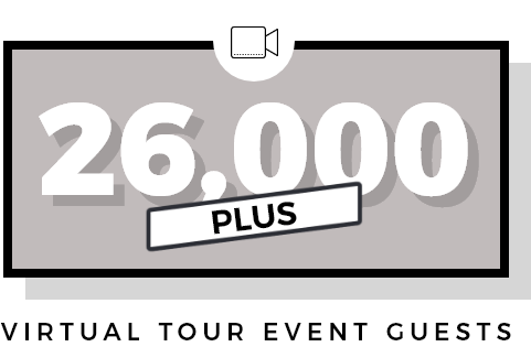26000 virtual tour event guests