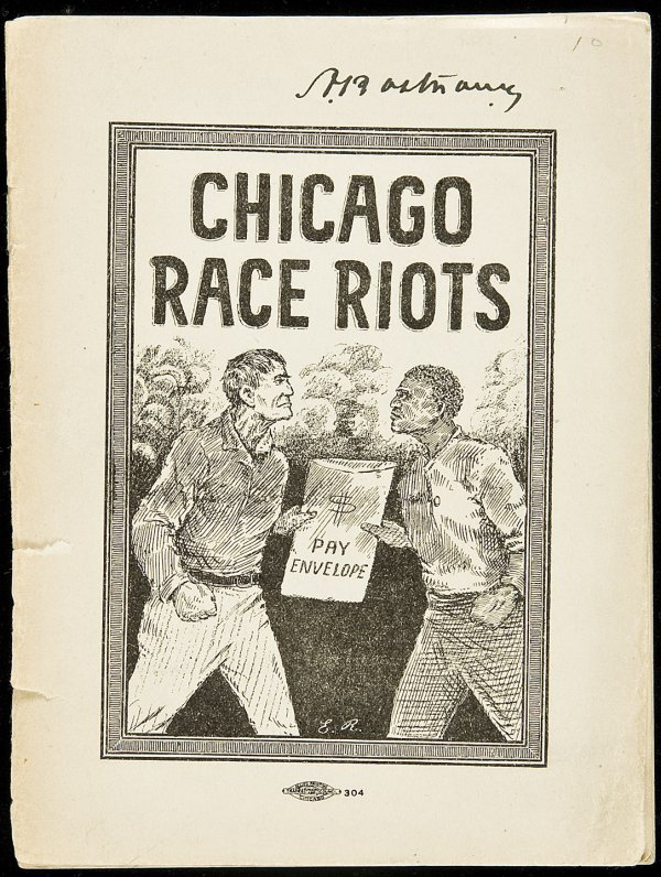 Chicago books Race Riots