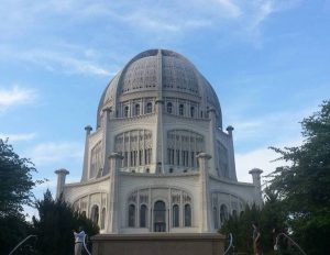Bahá'í House of Worship Wilmette Orientalist architecture in Chicago most beautiful buildings in Chicago