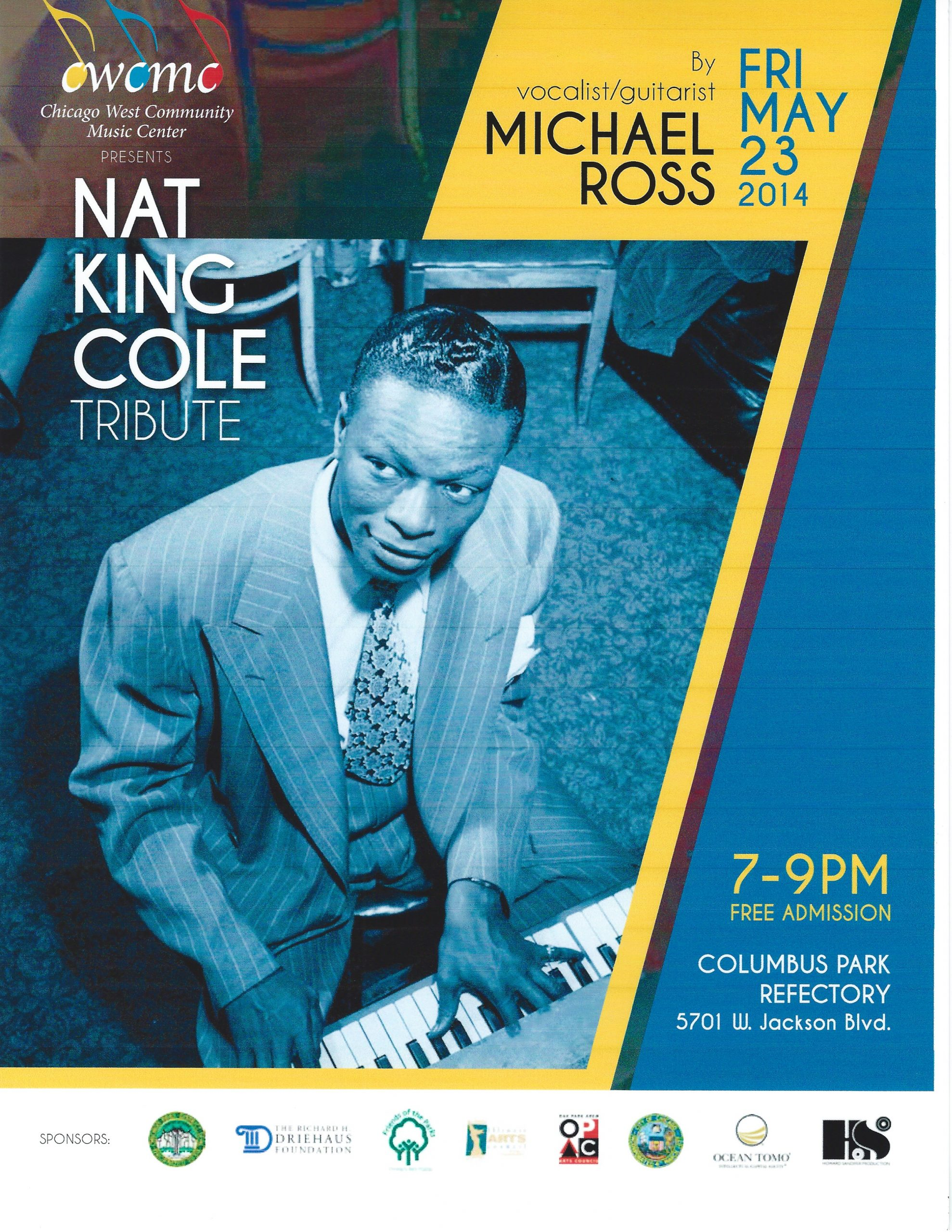 Nat King Cole Chicago jazz concert