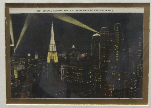 1920s towers postcard chicago architecture temple building