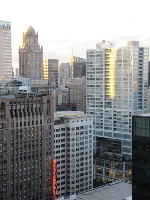 Chicago architecture downtown loop