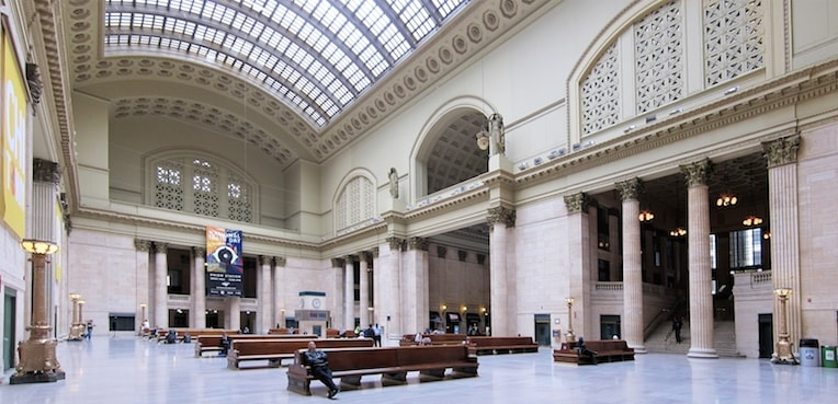 Chicago union station head house Chicago Holiday Gift Guide 2017