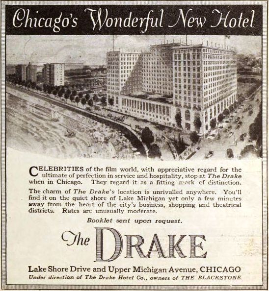 Chicago's most haunted historic buildings Drake Hotel The Lady in Red