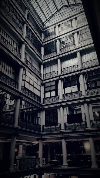 Chicago's most haunted historic buildings MArshall Field's 8th floor window well