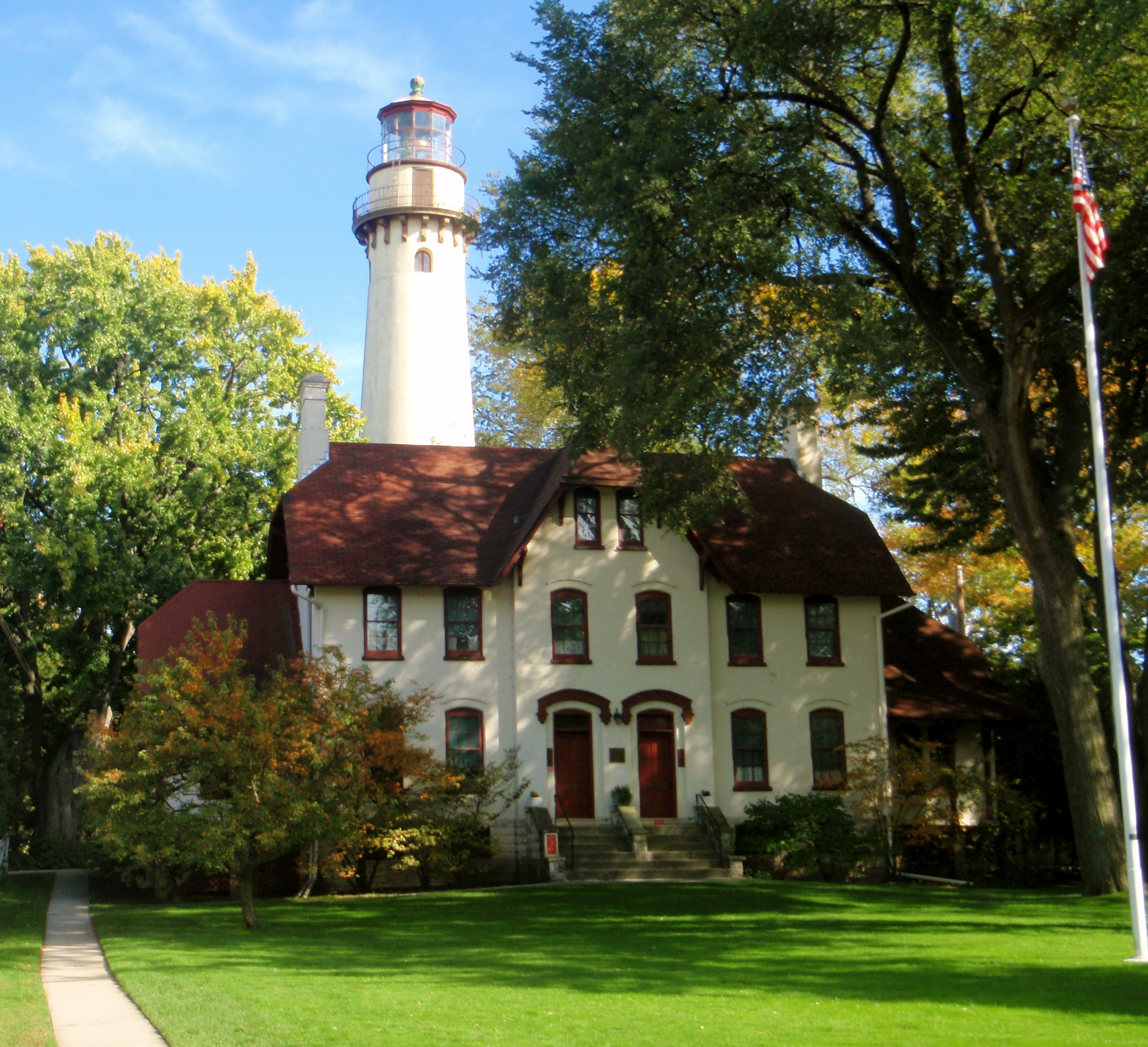 Chicago Lighthouses Grosse Point Lighthouse Evanston
