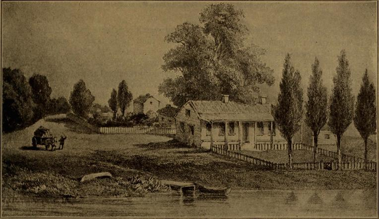 Chicago in 1818 du Sable Kinzie House