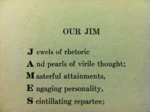 Our Jim Forgotten Chicago Poetry