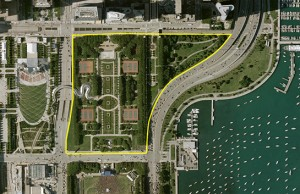 Maggie Daley Park Aerial