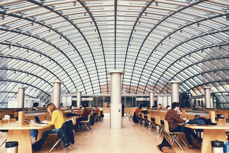 Mansueto Library University of Chicago campus reading room