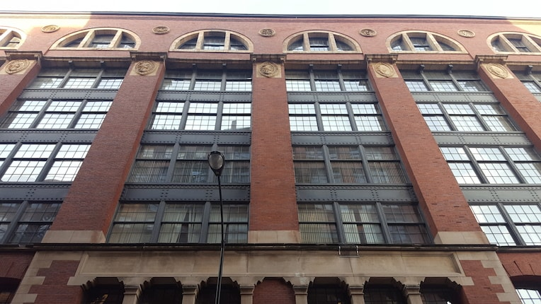 Printers Row Architecture Lakeside Press Building Columbia College