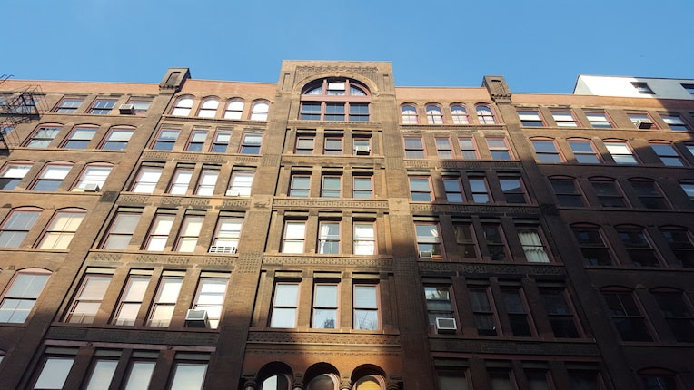 Printers Row architecture Donohue Building