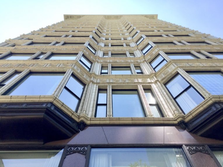 Chicago's historic buildings Reliance Building virtual events remote team building