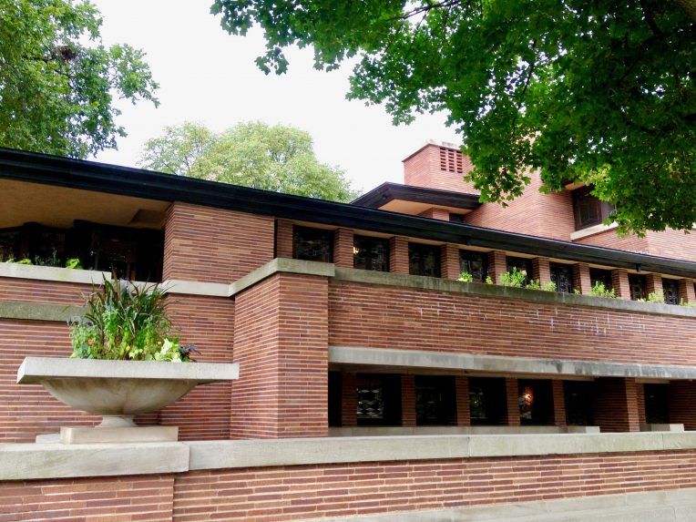 Chicago's historic buildings Robie House Frank Lloyd Wright