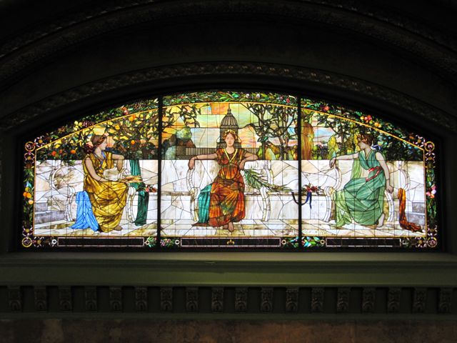 St. Louis Architecture Tiffany Glass
