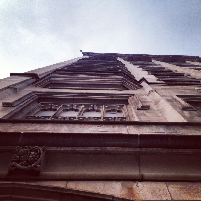 Collegiate Gothic Architecture at Chicago University Club