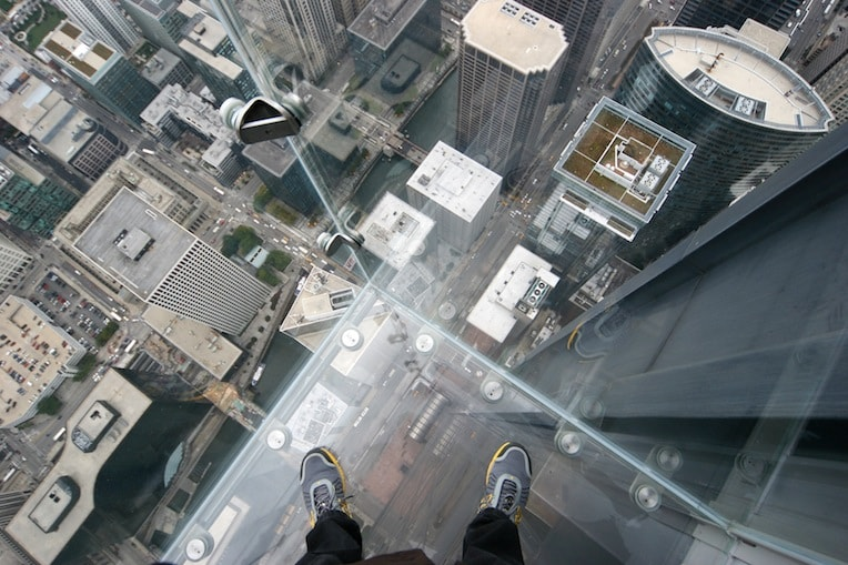 Willis Tower Skydeck The Ledge Kids Activities in the Loop