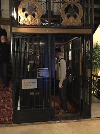 cage elevator brewster apartment lincoln park architecture