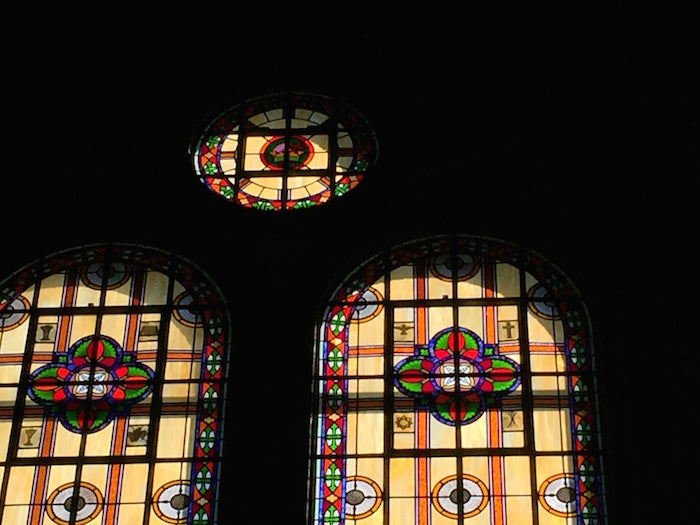 stained glass moody bible architecture lincoln park chicago