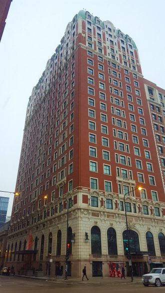 Blackstone Hotel Michigan Ave architecture Beaux Arts Second Empire