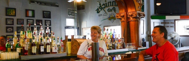 Big Shoulders food bus tour neighborhood bar Bridgeport Chicago Detours South Side bus tour