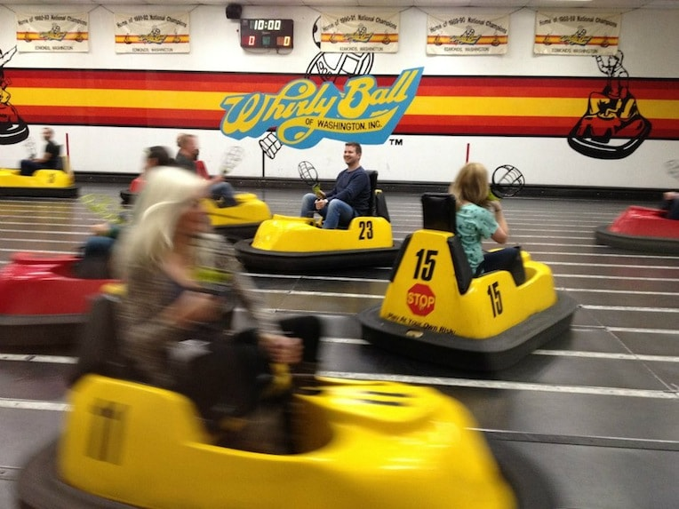 unique ideas team building in Chicago whirlyball