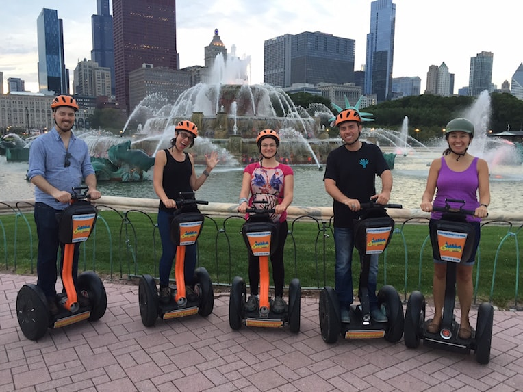 chicago detours absolutely chicago segway tour