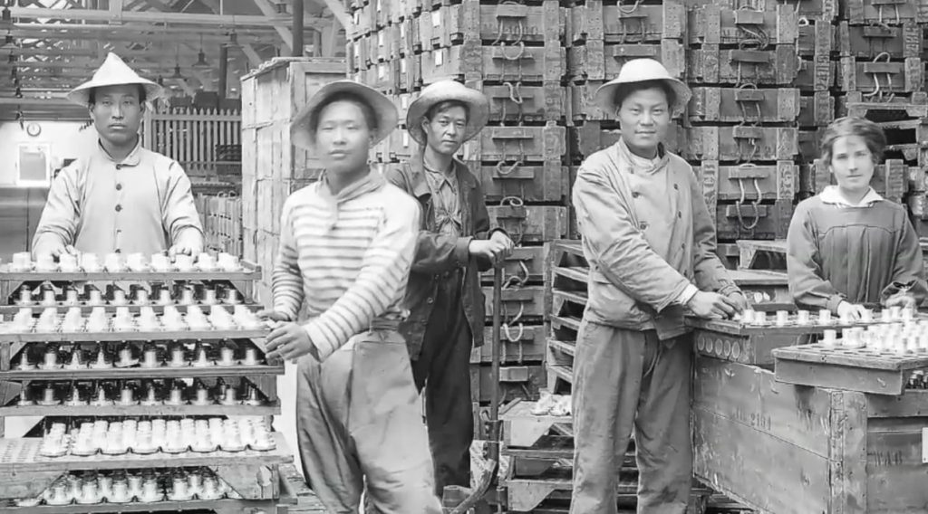 forgotten Chinatown Chicago factory workers