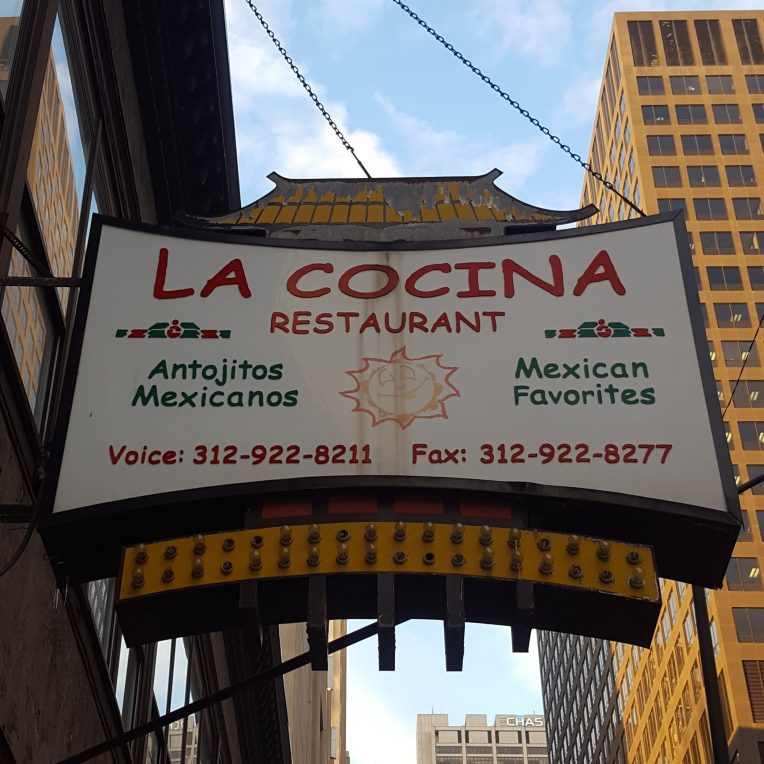 forgotten Chinatown pagoda sign La Cocina
