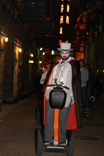 Halloween tours in Chicago absolutely chicago segway tours haunted segway tour