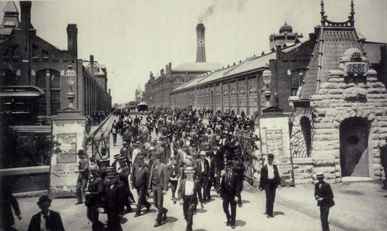 historic Pullman Chicago workers