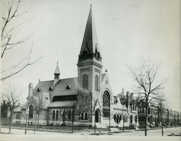 historic Pullman Chicago church