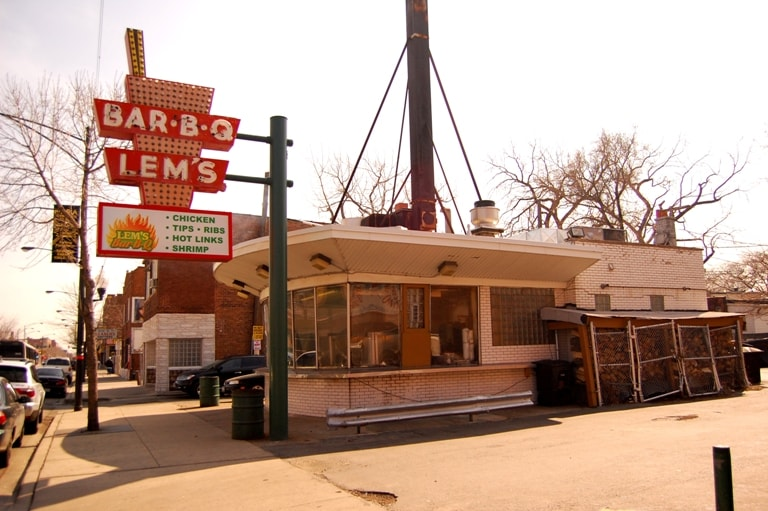history of Chicago BBQ lem's