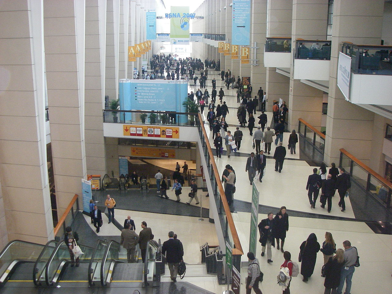 history of mccormick place grand concourse interior