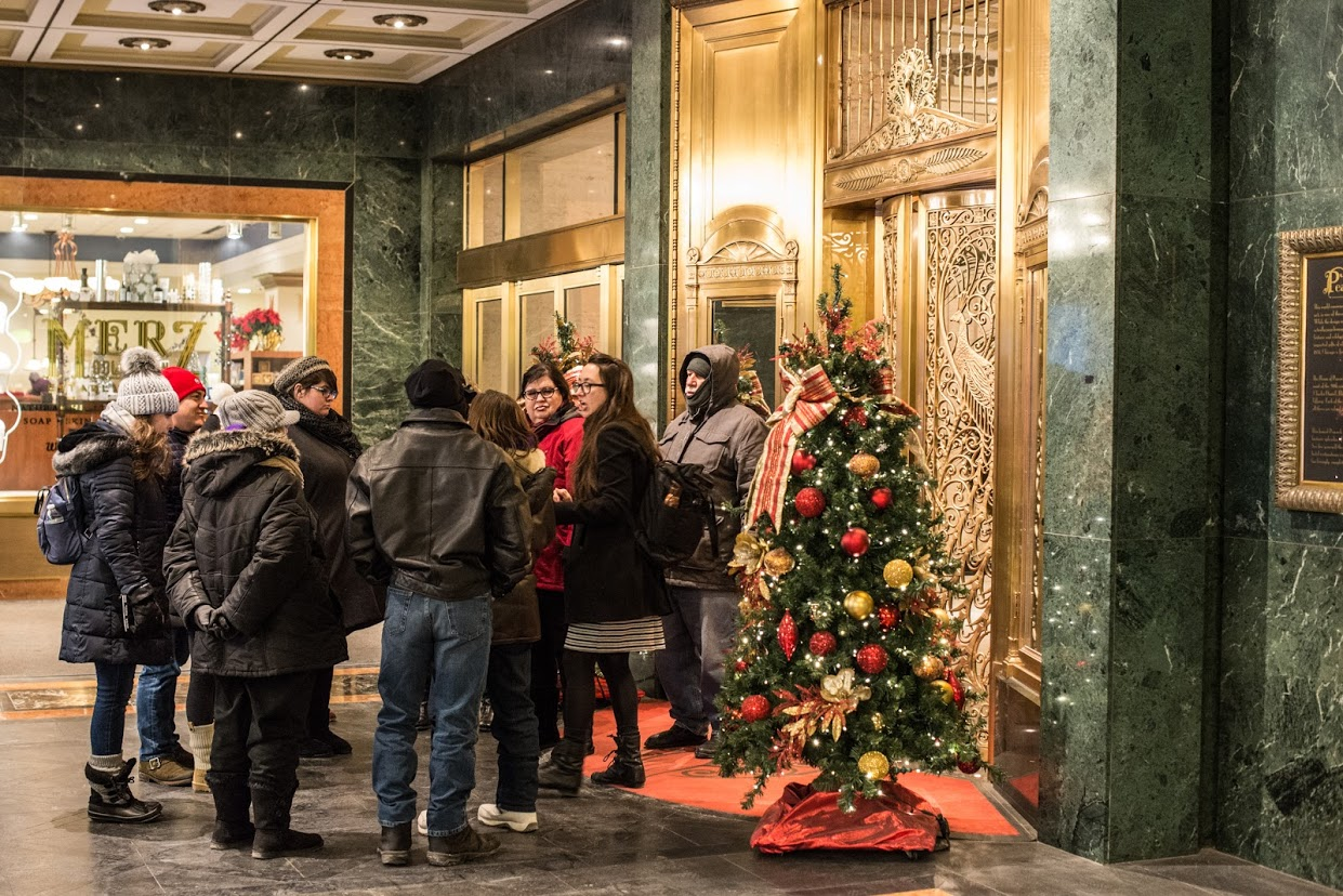 Chicago holiday tour palmer house holiday things to do in chicago
