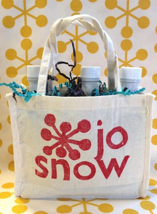 jo snow chicago food holiday gift bag
