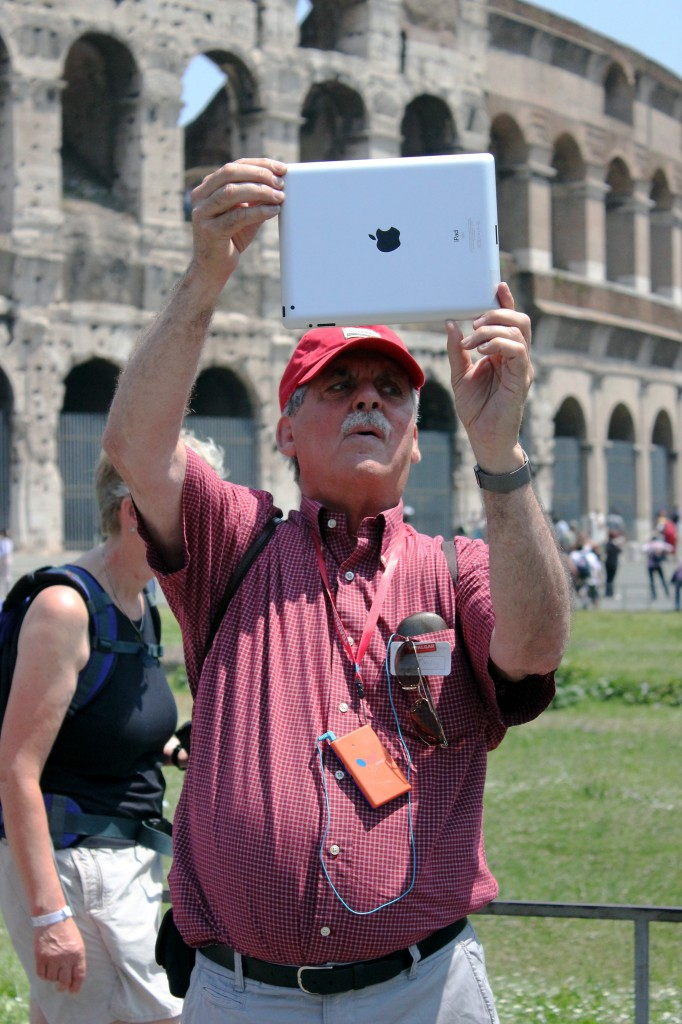 Bad use of mobile technology travel advice