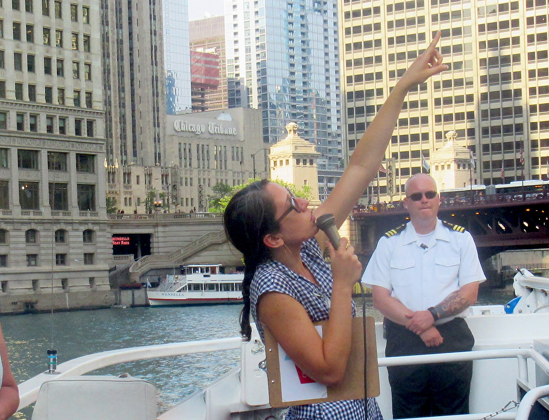 Chicago tour company yacht charters professional tour guide Amanda Scotese