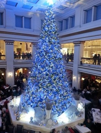 the walnut room at christmas tree 2016