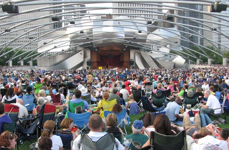 top things to do in Chicago this summer millennium park concert