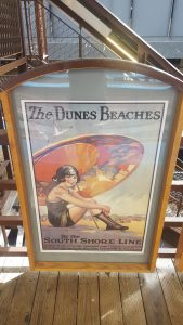 Indiana Dunes poster Quincy Station