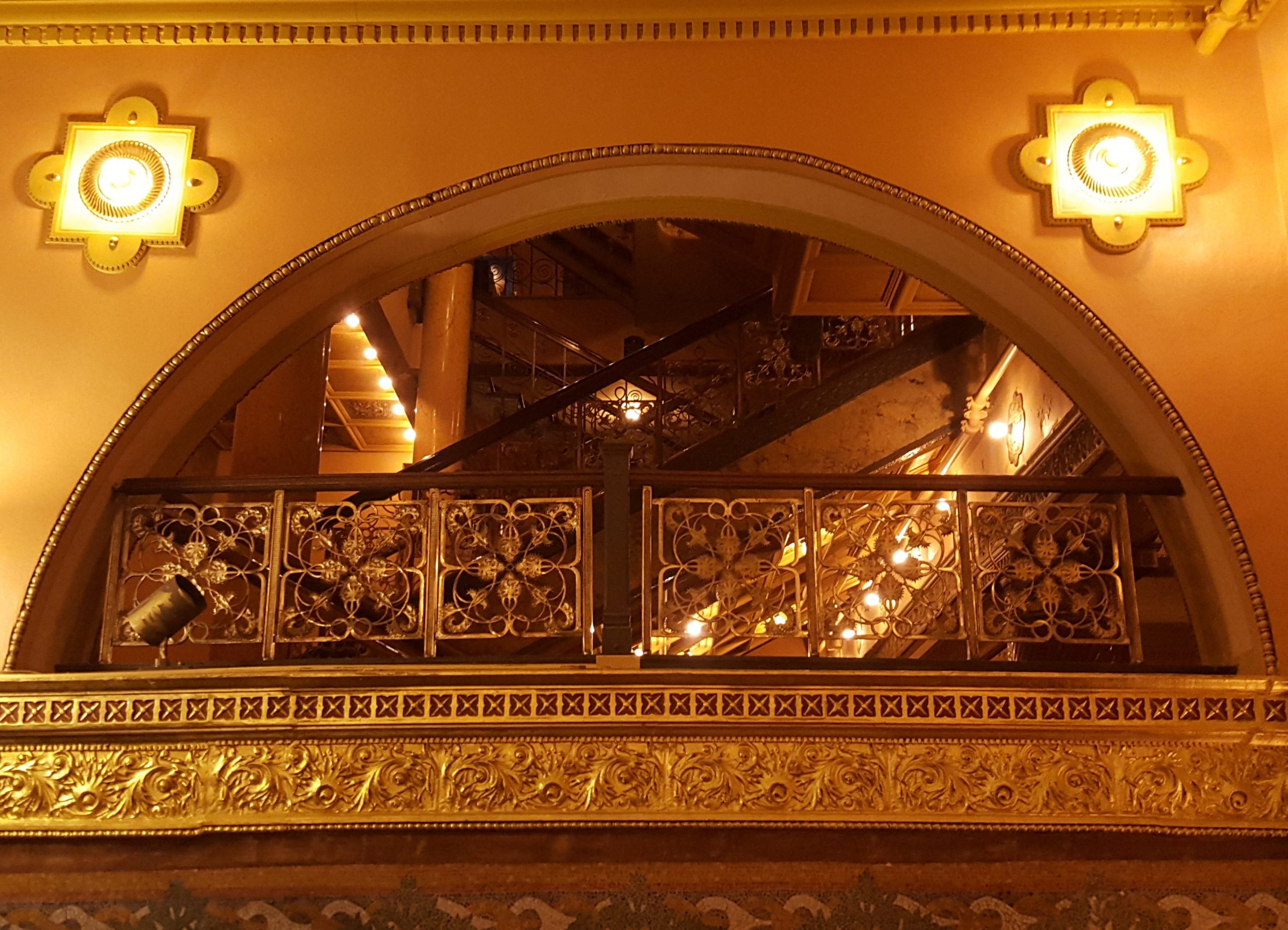 Auditorium Theater Louis Sullivan Dankmar Adler intricate designs
