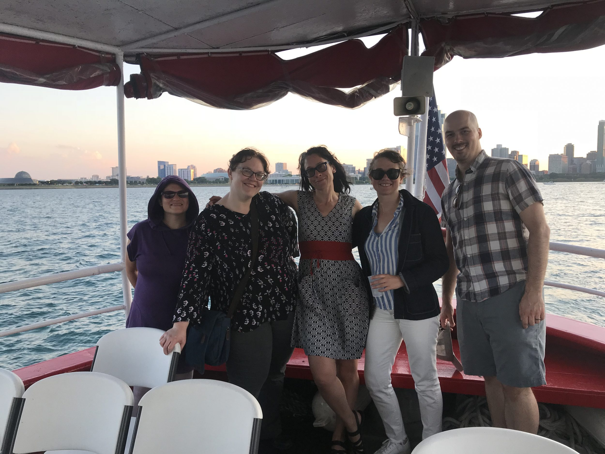 Chicago Detours guides boat tours Chicago fire boat customized tours
