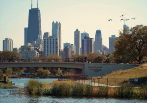 Chicago Highlights Tour visits Lincoln Park lagoon Nature Boardwalk