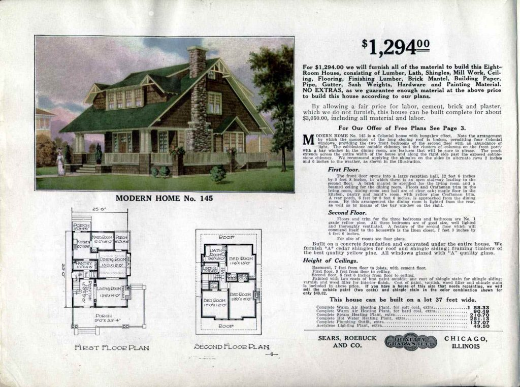 Sears company buildings in Chicago Sears catalog homes