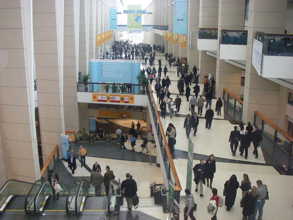 history of mccormick place grand concourse interior chicago conference group tours