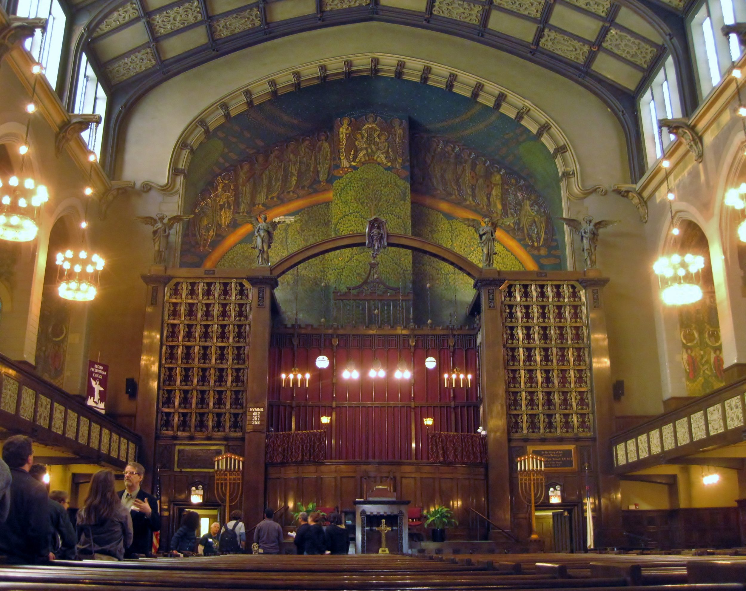 things to do near mccormick place 2nd presbyterian church