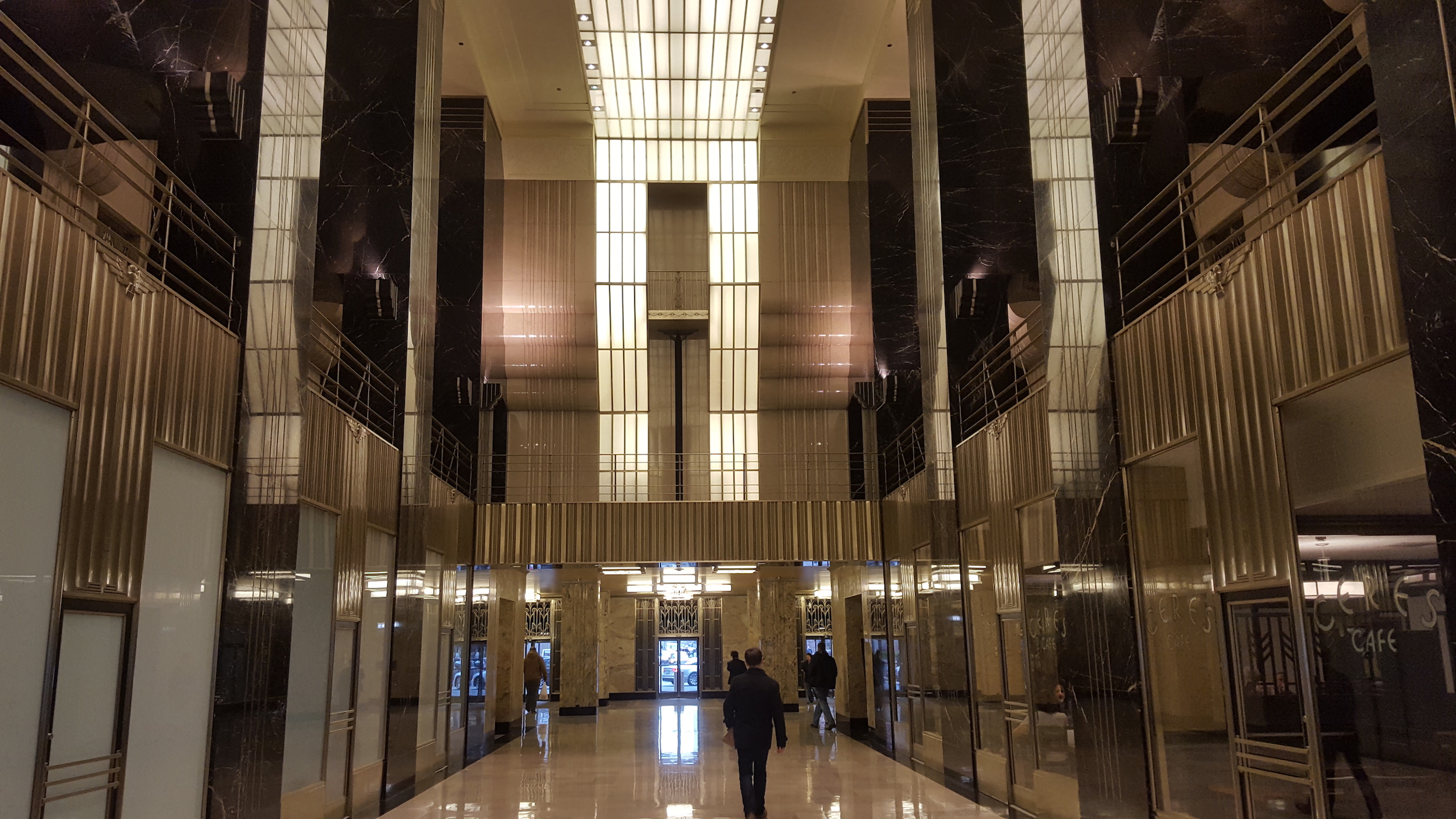 Chicago Board of Trade lobby Art Deco