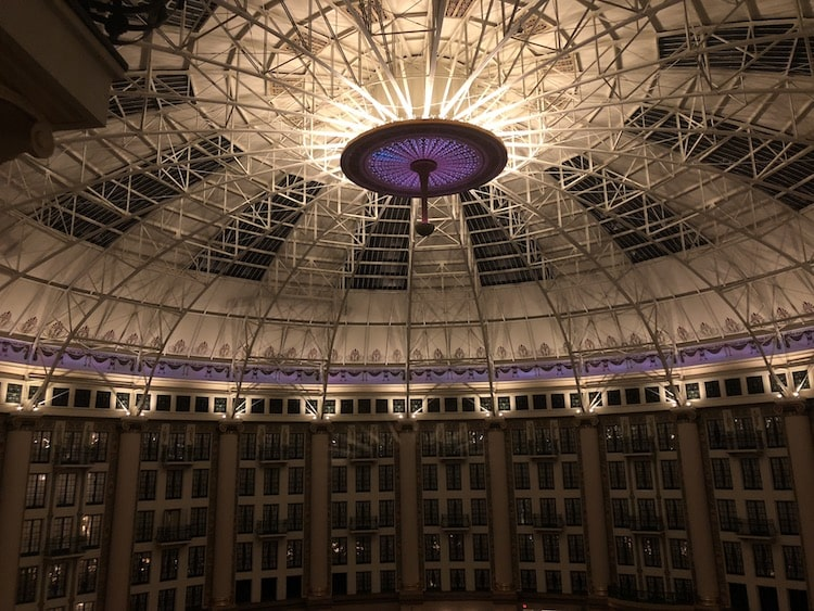 architecture steel dome west baden springs